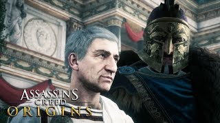 ASSASSIN'S CREED ORIGINS Ending & Final Boss Fight - ALL Endings (Xbox One X)