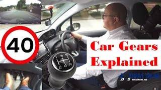 Gears in a car - When to change gear, how to change gears in a Manual car UK