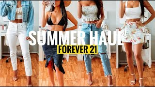 FOREVER 21 TRY ON HAUL | SUMMER OUTFIT IDEAS 2020