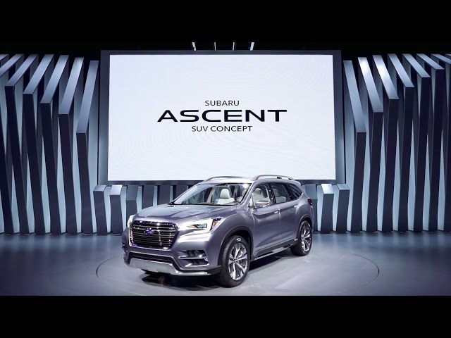 SUBARU ASCENT SUV CONCEPT: 2017 New York International Auto Show