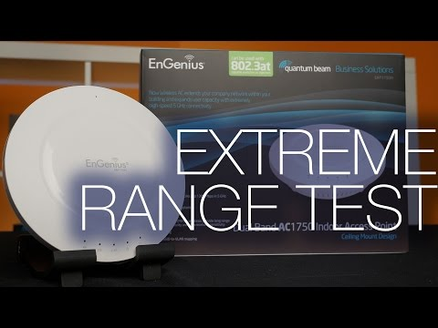 Engenius EAP1750H Dual Band Indoor AP Range Test