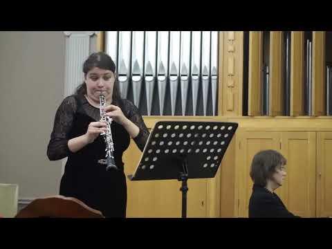 York Bowen 'Sonata for oboe and piano'