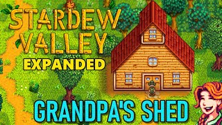 Stardew Valley Expanded Mod - Restoring Grandpa's Shed