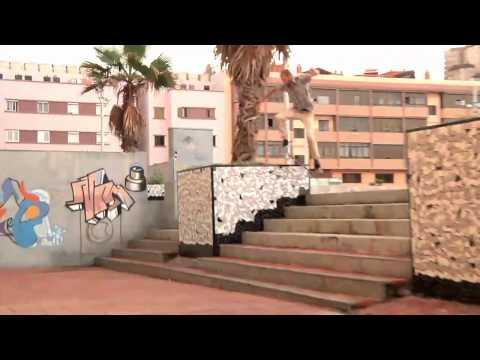 Adidas skateboarding in Cran Canaria