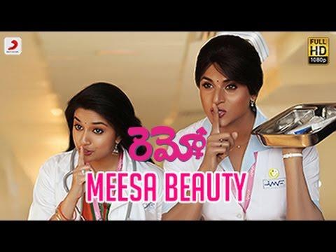 Remo - Meesa Beauty Telugu Video   Sivakarthikeyan, Keerthi Suresh   Anirudh Ravichand