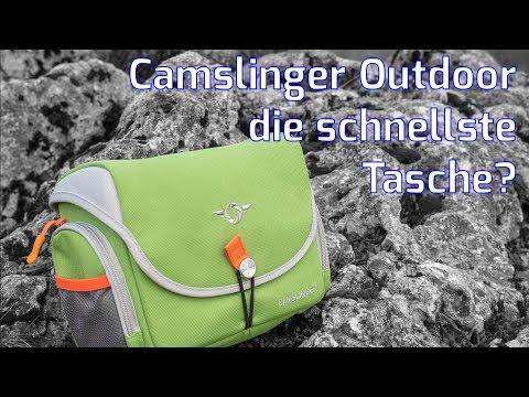 Kameratasche Camslinger Outdoor - Vorstellung und Test