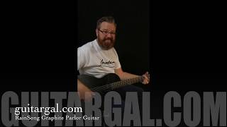Rainsong Parlor Guitar CH-PA1100NSG at Guitar Gallery
