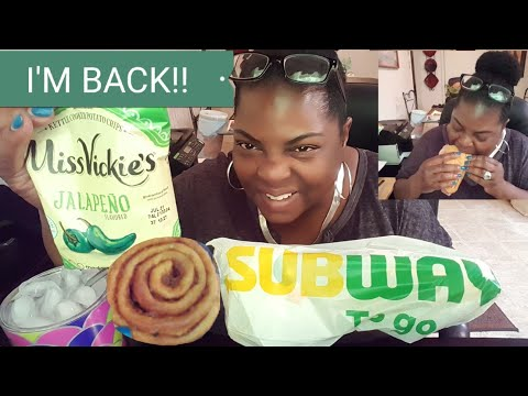 Subway Mukbang• Italian BMT & Pecan Rolls! Thank You Viewers & Bloveslife! Mp3