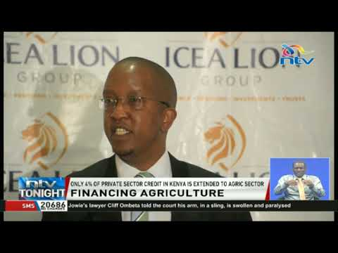 Only 4% of private sector credit in Kenya is extended to the Agriculture sector.
