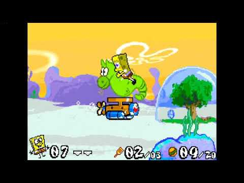 Gameboy Advance Longplay - SpongeBob SquarePants - Battle for Bikini Bottom Part.2 of 20