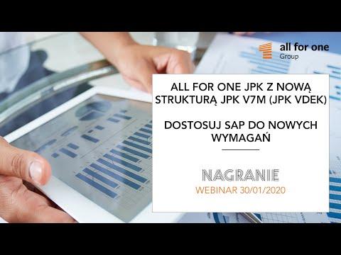 SNP JPK z nową strukturą JPK_V7M (JPK_VDEK) – dostosuj system SAP do nowych wymagań