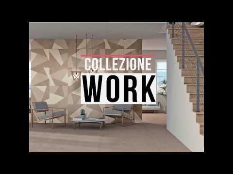 Armonie Ceramiche Work tegel 60x60 - Bronzo