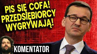 PIS Cię COFA! Będzie Zniesienie Obostrzeń przez Bunt Przedsiębiorców! Analiza Komentator Finanse PL