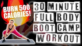 30 Minute Full Body Boot Camp Workout  by Sydney Cummings