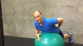 How To Use An Exercise Ball To Improve Posture And Treat Shoulder, Neck, And Back Pain