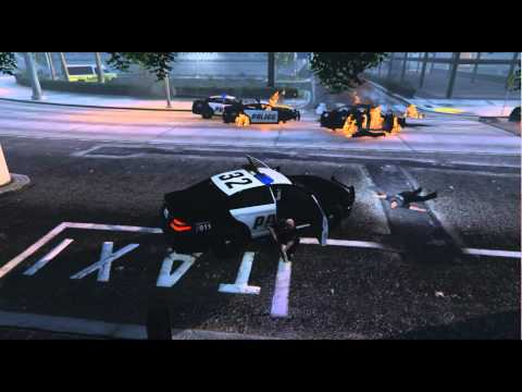 Armored Trevor's Carnage[GTA V PC Short Movie]