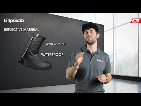 GripGrab Dryfoot til almindelige sko video