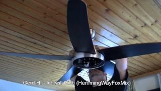 Hadley bastelt: Endmontage eines Ventilators....