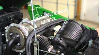How To Change Your Air Filter - John Deere Compact Utility Tractors