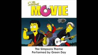 Green Day - Simpsons Theme