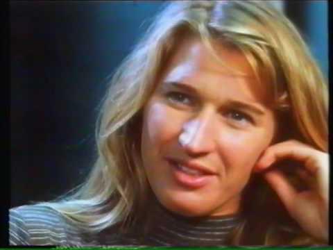 Steffi Graf on 60 Minutes - 1995