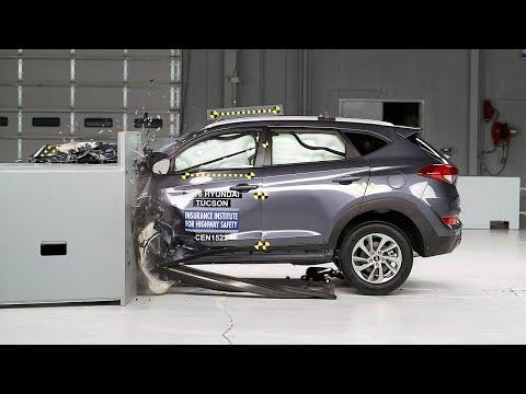Hyundai Tucson çarpışma testine girdi