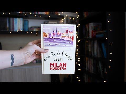 A INSUSTENTÁVEL LEVEZA DO SER (ou um dos melhores livros que você vai ler) | BOOK ADDICT