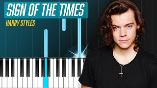 "Harry Styles   ""Sign Of The Times"" Piano Tutorial   Chords   How To Play   Cover"