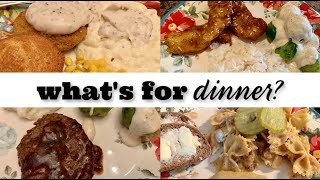 TWO WEEKS OF LARGE FAMILY WHAT'S FOR DINNER & DESSERT! || REAL LIFE MEAL IDEAS