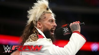 Enzo and Cass interrupt The Dudley Boyz: Raw, April 4, 2016