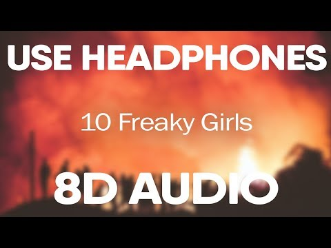 Metro Boomin 10 Freaky Girls With 21 Savage 8d Audio