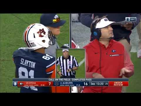 Auburn Offense vs Georgia Defense 2017