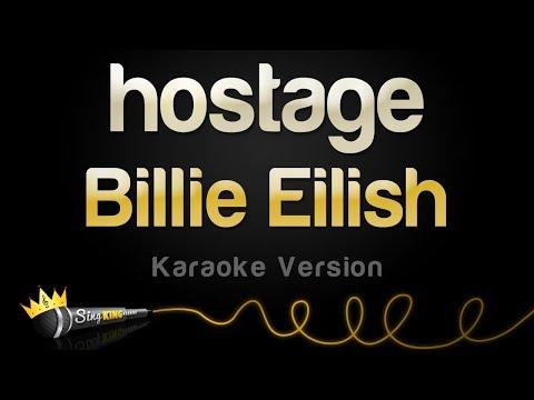 Billie Eilish - hostage (Karaoke Version)