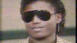 THE JACKSONS VICTORY TOUR REPORT WITH TOM JOYNER 1984  KTXA-TV 21 DALLAS
