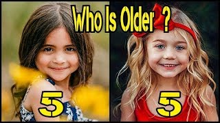 Who is Older ? Famous Musical Ly Girls