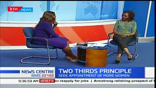 News Center Discussion: The two-thirds gender principle