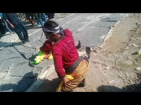 Pegelaran kuda lumping atau ebeg di desa bojong kawunganten cilacap HUT RI ke 74