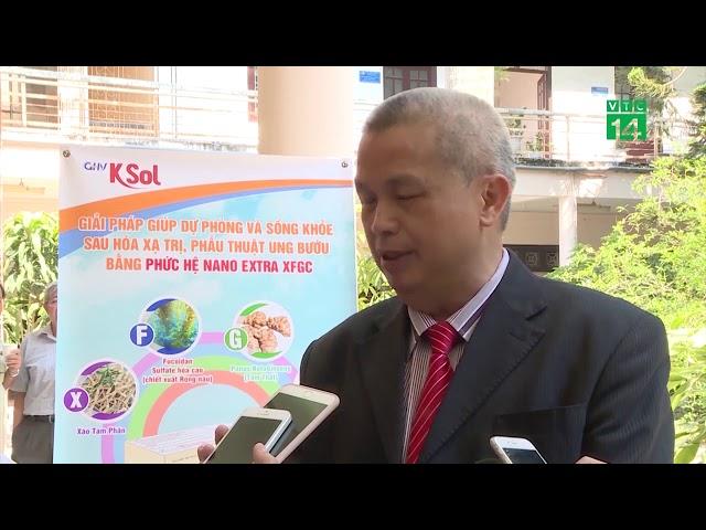 PGS. TS Trần Đáng đánh giá về công nghệ Nano của GHV KSOL trong phòng và hỗ trợ điều trị ung thư