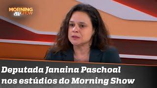 Confira a entrevista completa de Janaína Paschoal ao Morning Show