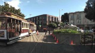 San Francisco Cable Car cab ride.
