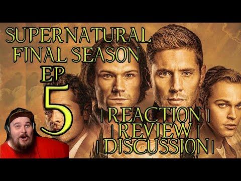 SUPERNATURAL   FINAL SEASON EPISODE 5   Reaction, Review, Discussion