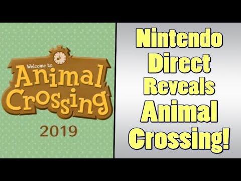 Nintendo Direct - Animal Crossing for Switch, Luigi's Mansion 3, Final Fantasy Games (видео)