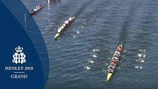 Nat Tr Centre, AUS v Leander & Molesey - Grand | Henley 2018 Semi-Finals