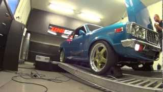 Unigroup Dyno Session – Mazda RX3 Coupe First Start And Initial Tune