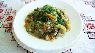 Овощное рагу рецепт Как приготовить овощное рагу Рагу из овощей Овочеве рагу диетические рецепты