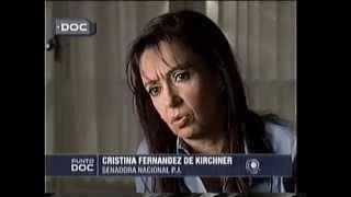 Entrevista A CFK En Rio Gallegos En 2003