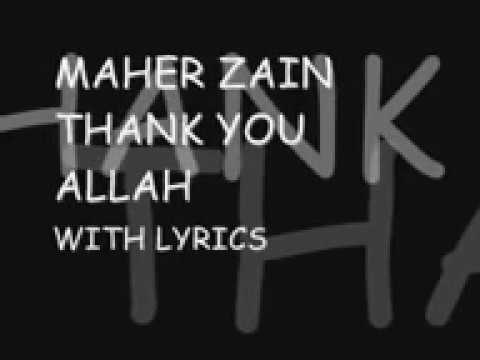 Download Thank You Allah Lyrics Maher Zain Video 3GP Mp4 FLV