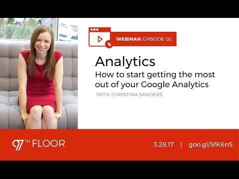Webinar | Advanced Google Analytics - YouTube