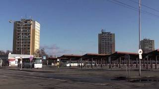 preview picture of video 'I. Nádražný rad, Autobusová stanica Levice, Slovensko.   Bus station Levice, Slovakia.'