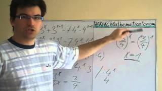Exponenciálni rovnice 3